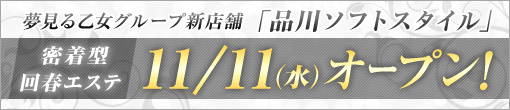 11月11日グランドオープン!!